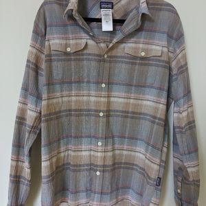Patagonia Men's Organic Cotton Flannel size Large